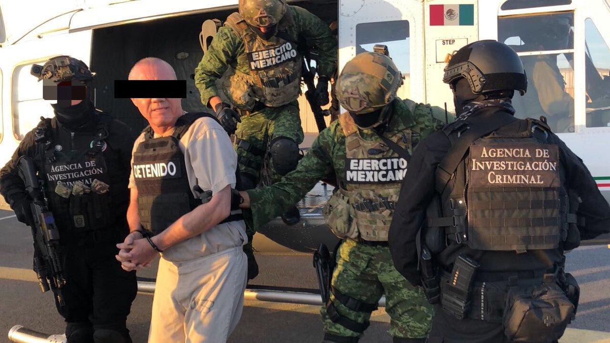 """Juez ordena mantener en prisión a Dámaso López, """"El Licenciado"""", hasta nueva audiencia."""
