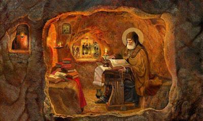 Αποτέλεσμα εικόνας για «Δεν ντρέπεσαι, σαράντα πέντε ετών παλικάρι κατάγερο, να κάθεσαι όλη μέρα…». Άγιος Αρσένιος Καππαδόκης
