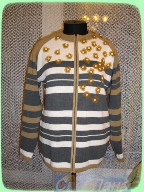 новая кофта из свитера