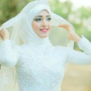23aec12ff0775 صورة عروسة جميلة محجبة فى ليلة العمر ، اجمل صورة عروسة محجبة 2017 و 2018