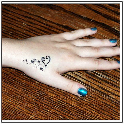 Hand Tattoo For Women
