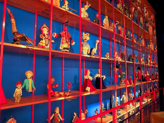 Galeria de Marionetas en el TOPIC de Tolosa