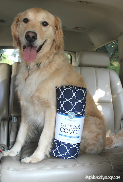 Moly Mutt car seat cover
