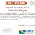 Certificados palestras: INDENIZAÇÃO POR DANOS MAORAIS EM CONDOMÍNIOS, O CONDOMÍNIO E O PRESTADOR DE SERVIÇO NA VISÃO TRIBUTÁRIA e A IMPORTÂNCIA DA ANÁLISE CONTRATUAL DOS PRESTADORES DE SERVIÇO NOS CONDOMÍNIOS