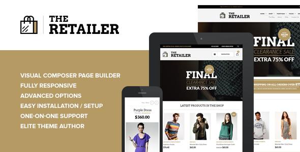The Retailer v2.9.4 - Responsive WordPress Theme