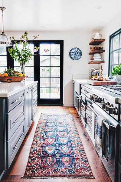 http://www.lonny.com/15+Reasons+Why+You+Need+A+Persian+Rug+In+Your+Kitchen/articles/ffjygJkmzKz/Size+Matters