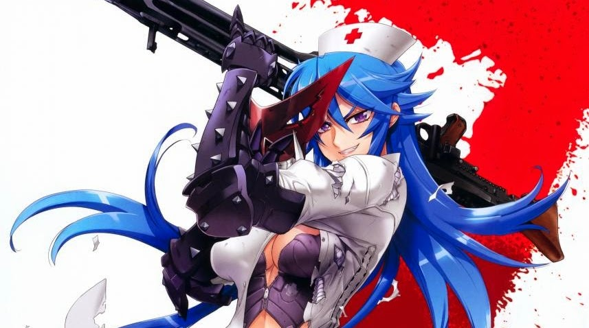 Anime Action Terbaik Triage X Sayo Hisugi