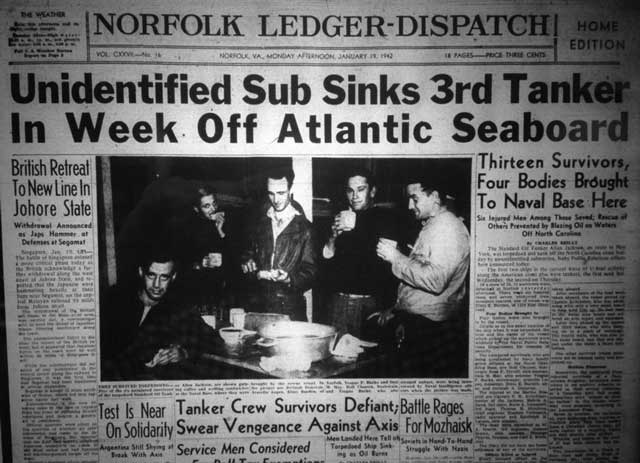 Norfolk Ledger-Dispatch, 19 January 1942 worldwartwo.filminepctor.com