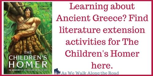 Literature activities for The Children's Homer
