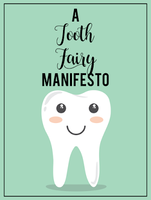 A Tooth Fairy Manifesto -- Looking for a written terms and conditions agreement from the Tooth Fairy for your child? Look no further, moms and dads. {posted @ Unremarkable Files}