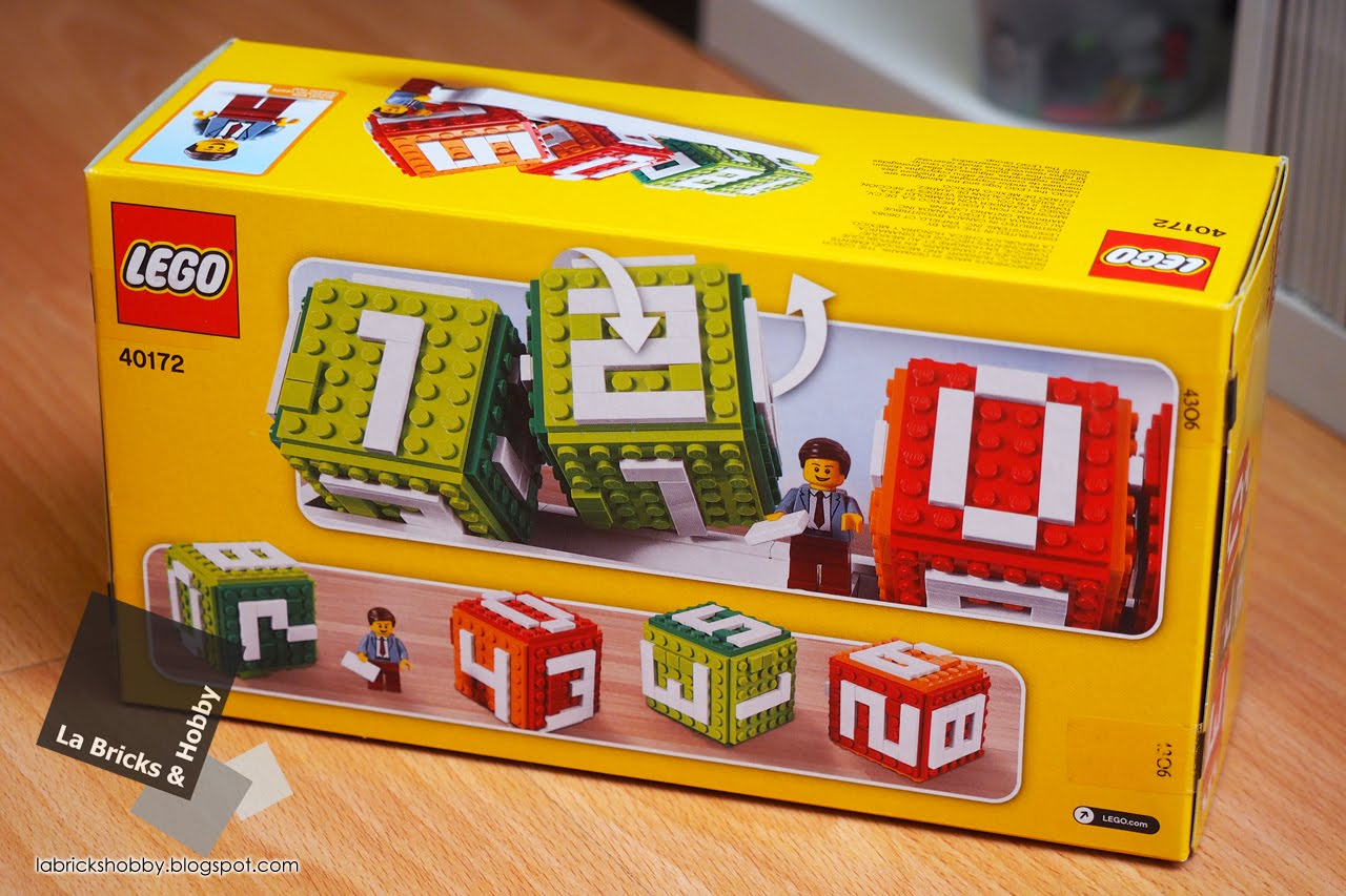 La Bricks Amp Hobby Lego Brick Calendar 40172