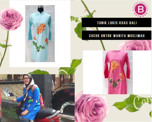 Mengenal Baju Tunik Motif Lukis Khas Bali