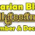 Pencarian Bloglist November & December