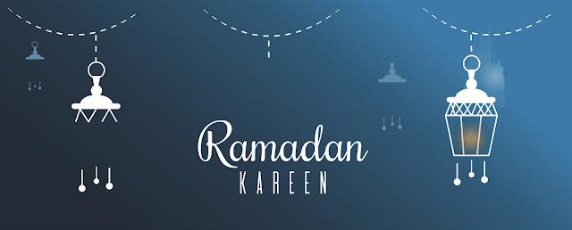 Contoh Banner Bulan Suci Ramadhan Tahun 1440 Hijriyah Format CDR