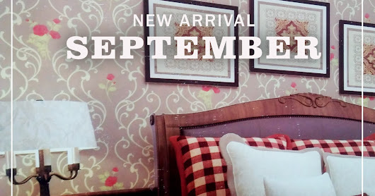 NEW ARRIVAL WALLPAPER DINDING - SEPTEMBER 2017