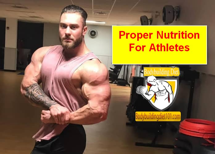 Proper nutrition for athletes shows you how to calculate how many calories you need to gain weight not just for bodybuilding but for any sports activity.