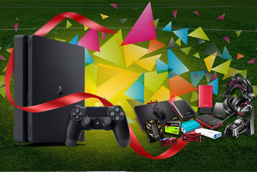 Win 1 of 9 PS4 Consoles or 1 of 179 ADATA Products Worldwide Giveaway