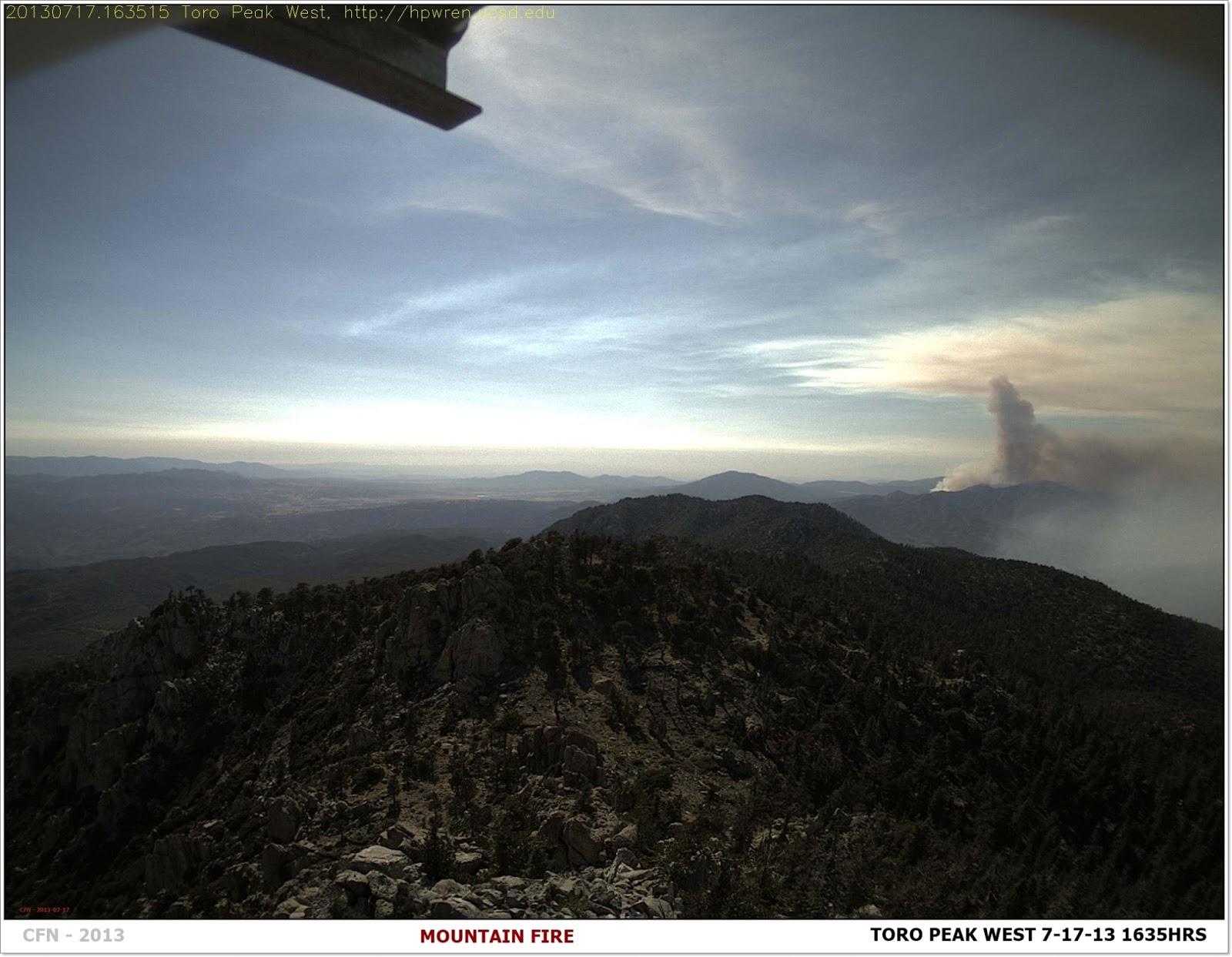 CFN - CALIFORNIA FIRE NEWS - CAL FIRE NEWS : #MountainFire