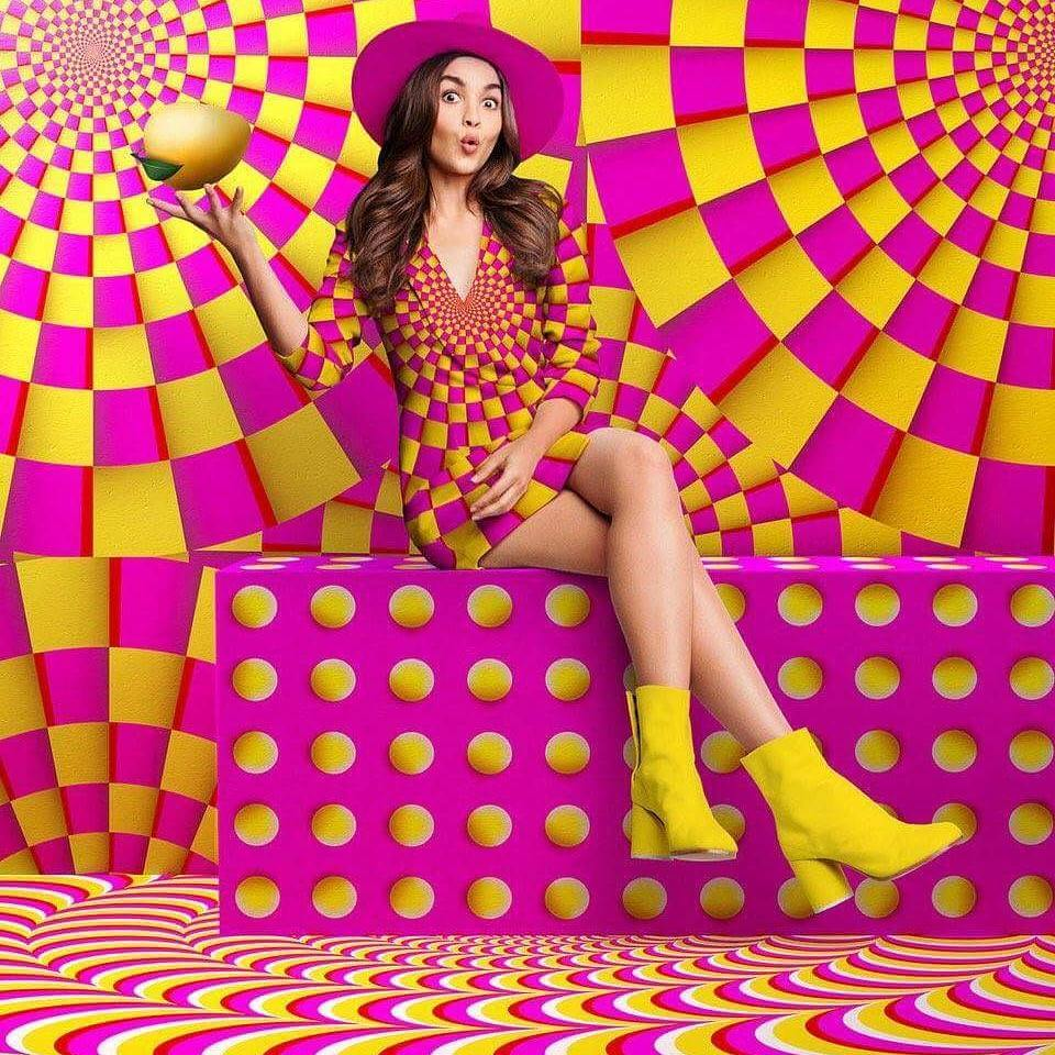 Alia Bhatt promotes Frooti Fizz with perfect swag Image