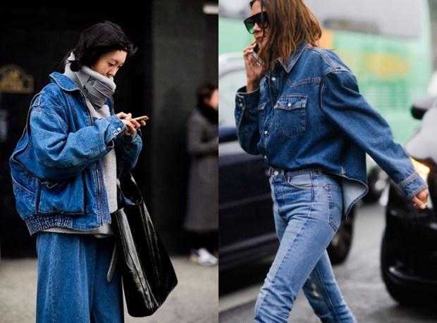 Women's Street Style Fashion 2018 2019: Denim