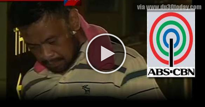 WATCH! Drug Pusher Na Cameraman ng ABS-CBN, ARESTADO!