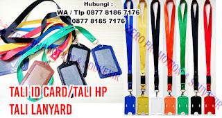 Pembuatan Tali Id Card, Tali HP, Tali Lanyard (Printing & Sablon), tali id card untuk panitia, tali handphone, Gantungan tali id card yang berlokasi di Tangerang