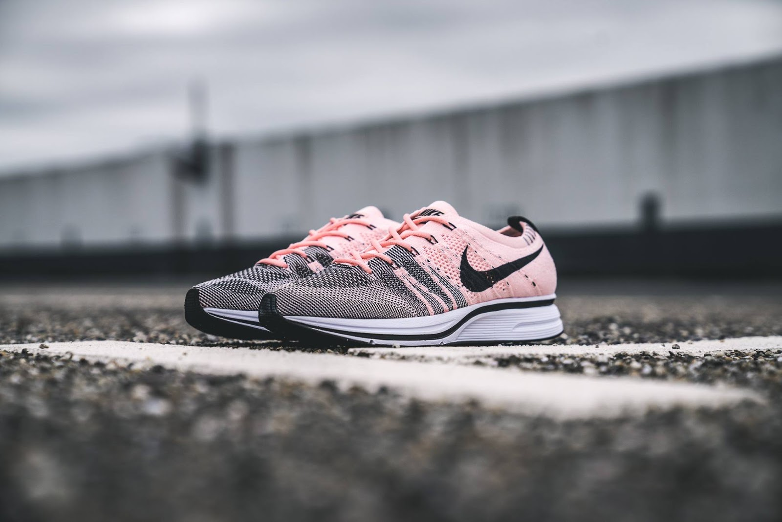 d02bfbb18733 Swag Craze  First Look  Nike Flyknit Trainer Sunset Tint