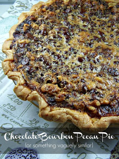 Chocolate Bourbon Pecan Pie