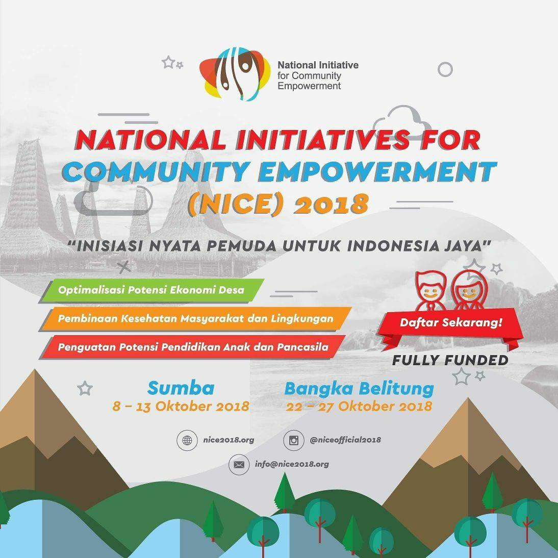 National Initiatives for Community Empowerment (NICE) 2018