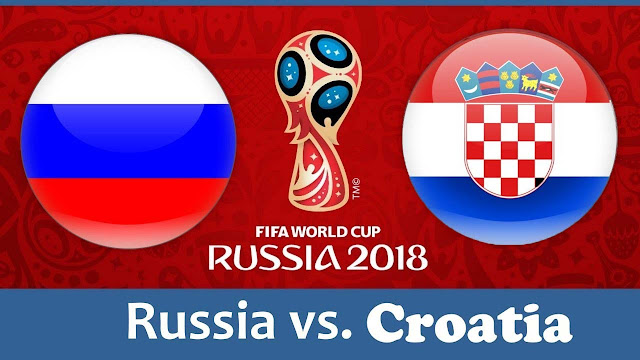 Russia vs Croatia Full Match Replay 07 July 2018