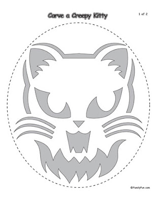 digital dunes: Scary Pumpkin Coloring Pages