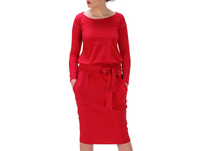red dress czerwona sukienka blog modowy trendy na wiosnę 2016 netstylistka