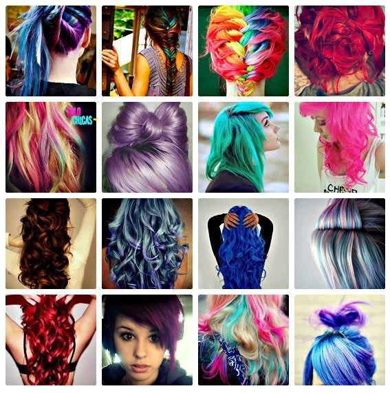 Tintes de pelo colores fantasia