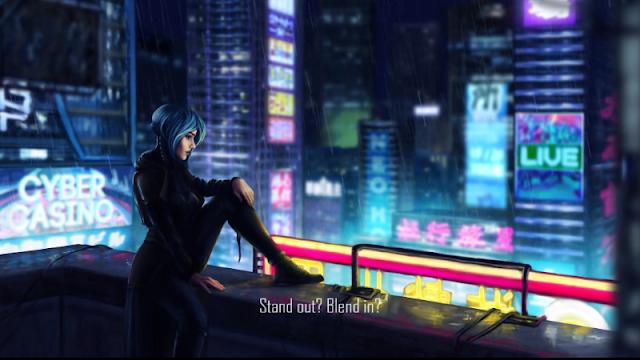 Cyberpunk, 2D y píxeles como puño en la versión consolera de DEX