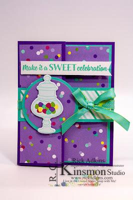 Sweetest Thing Bundle, Stampin' Up!, Rick Adkins, Birthday Card