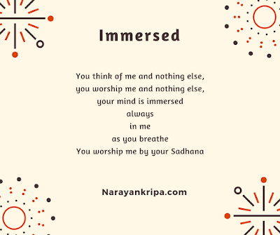 Text image for April Poetry Month Day 13 Poem: Immersed