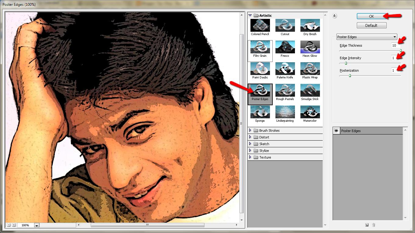 Cara Merubah Foto Menjadi Kartun Dengan Photoshop | Tips Okey