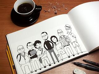 Caricatura il·lustrada