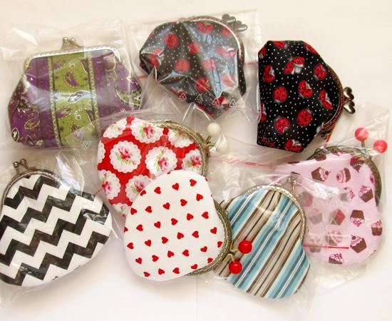 handmade purse, кошельки для монет