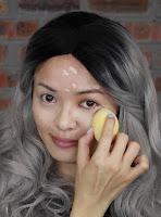 Use a beauty blender lightly blend the concealer