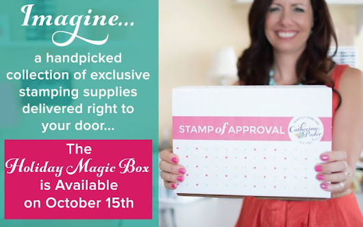 Stamp of Approval Holiday Magic Blog Hop