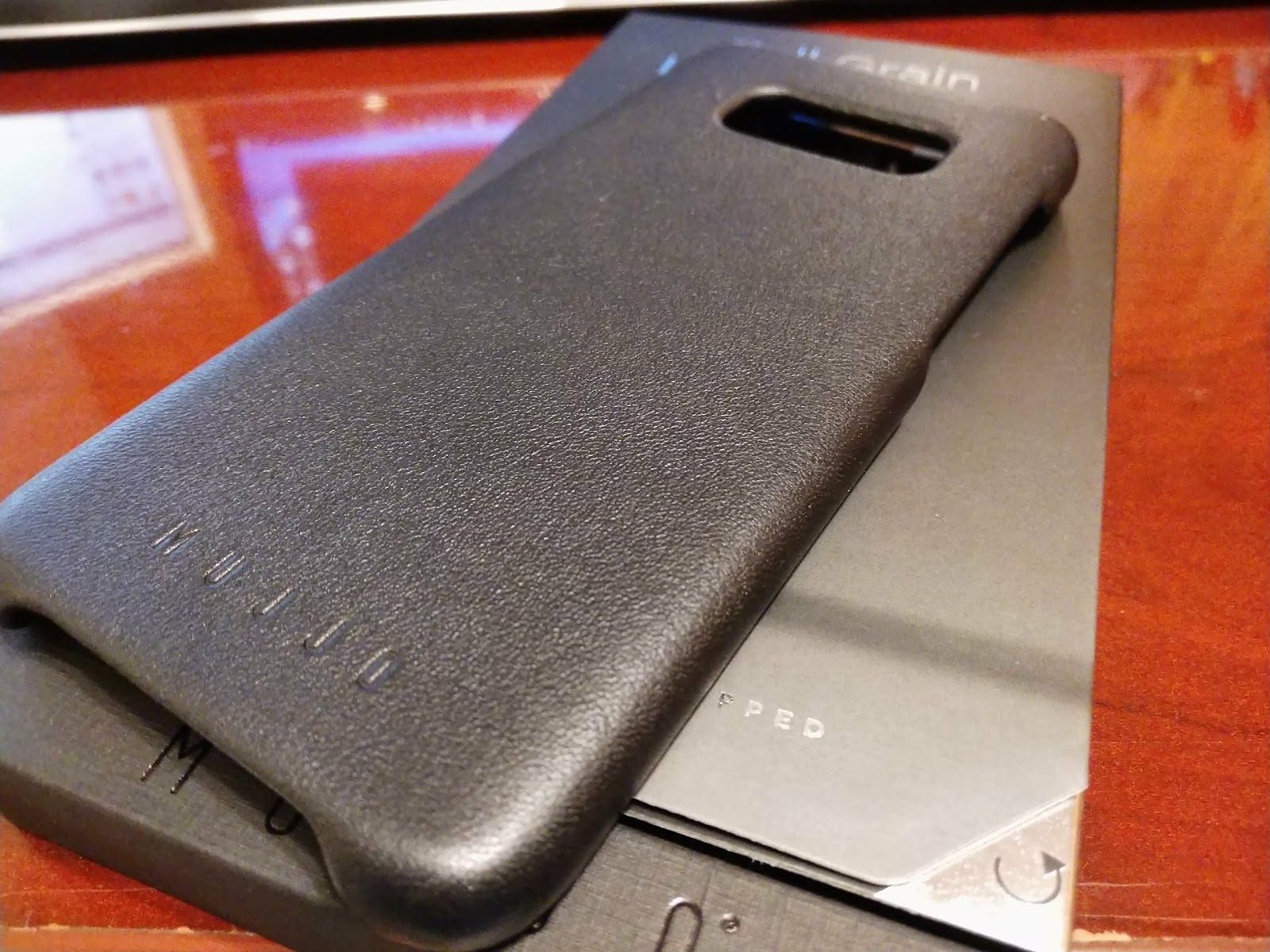 on sale 2ef99 bb4c5 Win a Mujjo Leather Case for your Galaxy S8+ ~ Android Coliseum