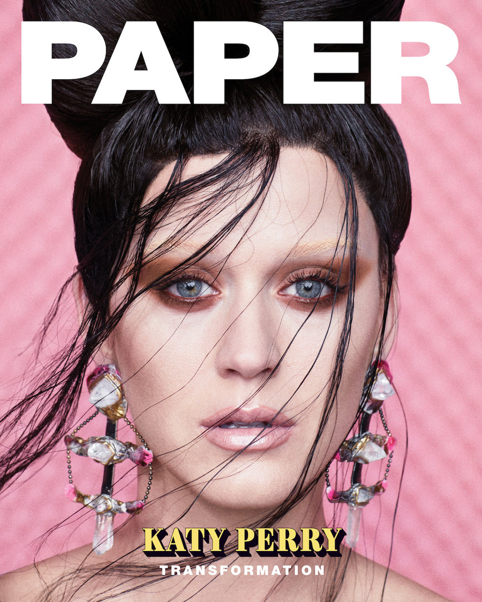 Katy Perry for Paper Magazine Transformation Issue