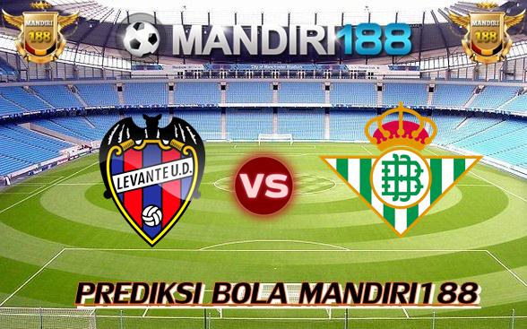 AGEN BOLA - Prediksi Levante vs Real Betis 27 Februari 2018