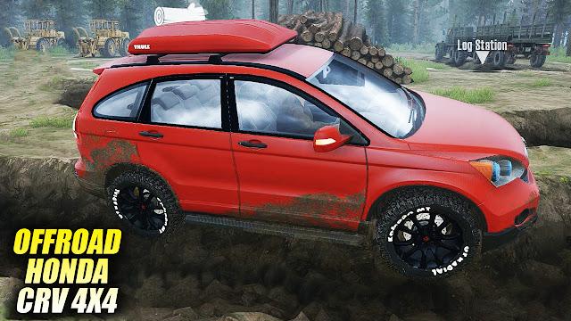 Mod Honda CRV Spintires Mudrunner
