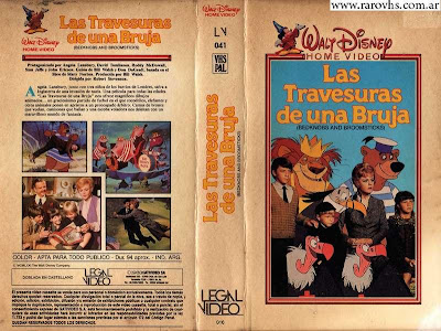 Las Travesuras de una Bruja = Bedknobs and Broomsticks (1971)