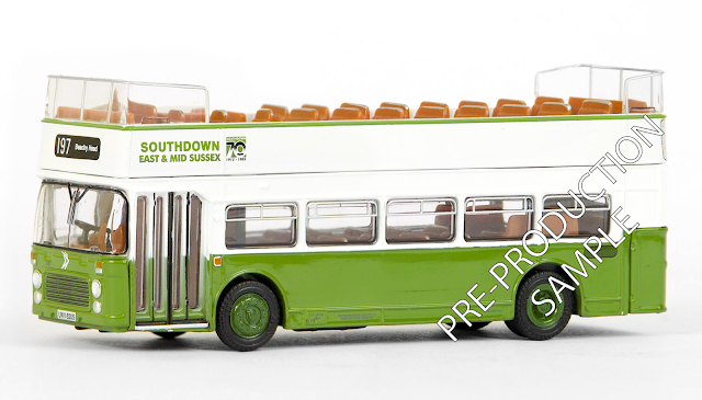 EFE PRE-PRO SAMPLE 18617 - Bristol VR III Open Top - Southdown East & Mid Sussex N.B.C.  Registration number UVW 620S, fleet number 620. Operating route 197 to Beachy Head. Scheduled for a July Release. RRP £34.50