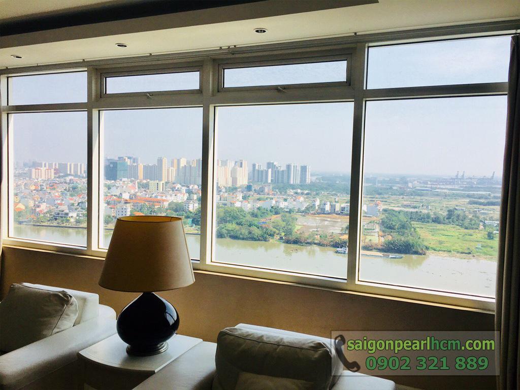 Cho thuê Saigon Pearl căn hộ 4 phòng ngủ 206m2 Ruby 1 view sông Sài Gòn - hình 13