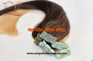 double drawn tape weft hair extensions