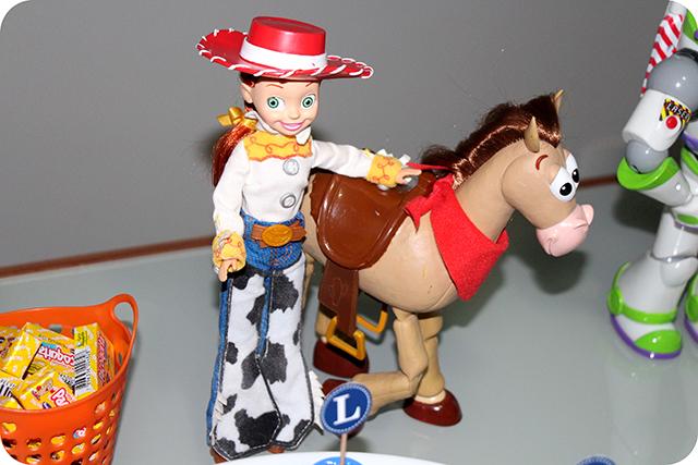 Jessie e Bala no Alvo - Mêsversário com Decoração do Toy Story